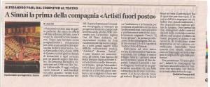 La Nuova Sardegna 13 Aprile 2012